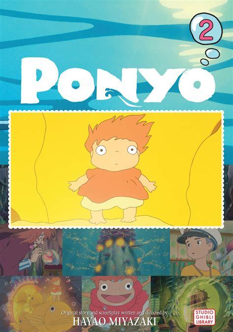 ponyo picture book ponyo comic vol 2 book by hayao miyazaki