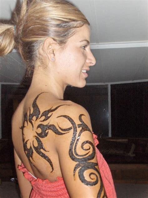 shoulder tattoo designs for girls design art