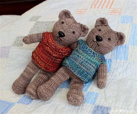 knit teddy teddy knitting patterns in the loop knitting