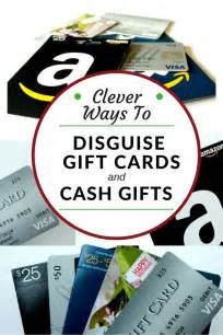 clever ways to disguise and gift cards