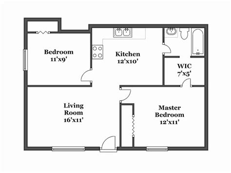 draw simple floor plan simple floor plan fresh draw floor plans house and floor