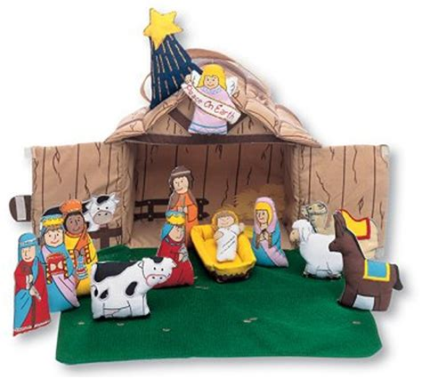 nativity houses nativity house cloth playset by pockets of learning