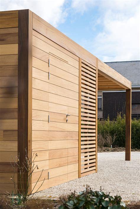 modern carport carport bois lapeyre