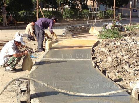 concrete rubber st random rubber concrete st floor mold