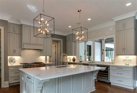 kitchen cabinet color trends semi custom cabinets and the top 4 kitchen design trends