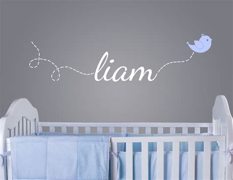 nursery wall name decals giveaway wall decal from surface inspired project nursery
