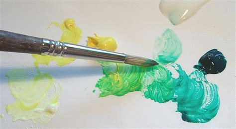 how to blend acrylic paint on canvas acrylic painting demo blending colors on your palette