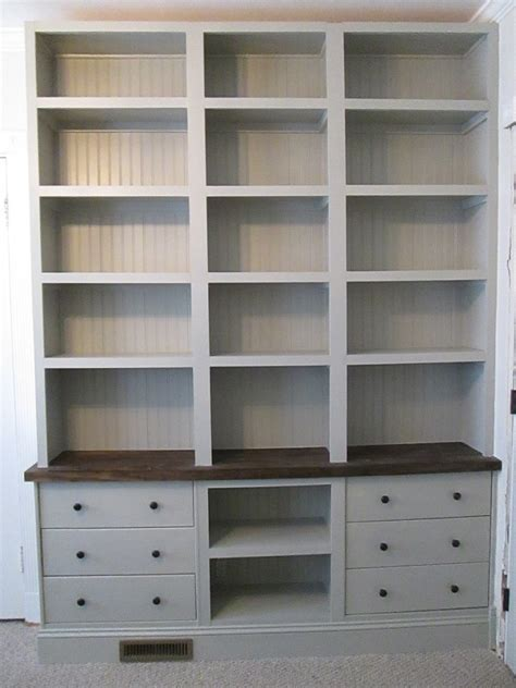 ikea built in bookshelves built in bookshelves with rast drawer base ikea hackers