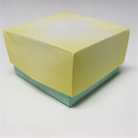 paper box origami with lid box with lid how to origami box at howto