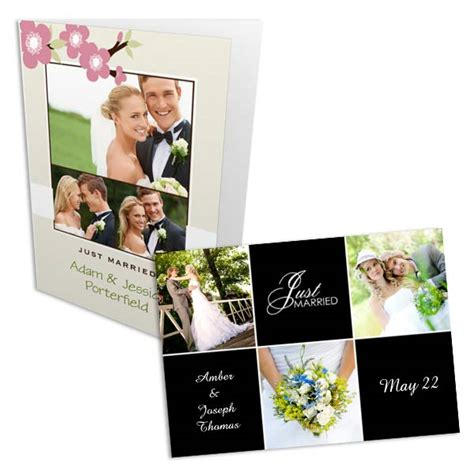 make a personalized card personalized photo wedding invitation announcements