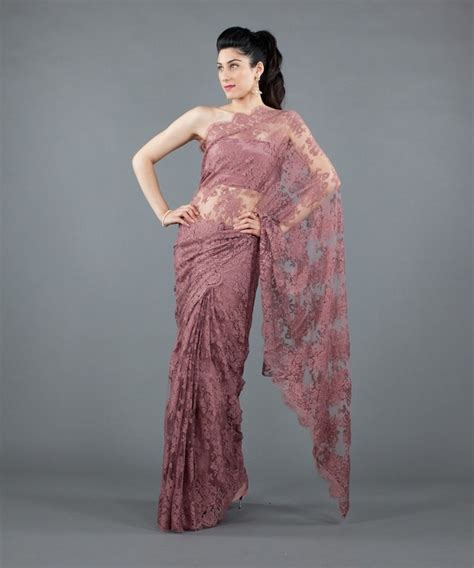 chandelier lace sarees chantilly lace saree indian shizz