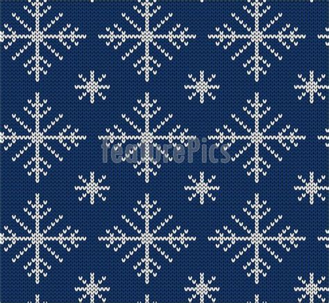 knit snowflake ornament pattern seamless knit pattern with snowflakes stock illustration