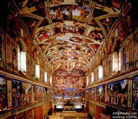michel ange les fresques de la chapelle sixtine