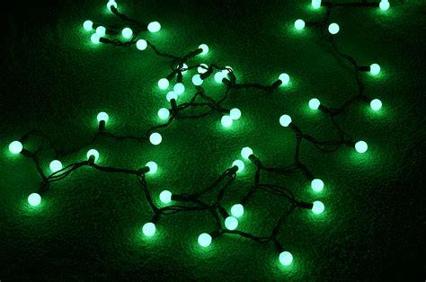 green led string lights 50 indoor outdoor green led large string lights
