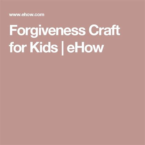 forgiveness crafts for 1000 ideas about forgiveness craft on church
