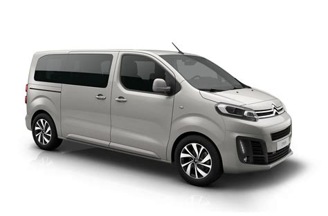 Citroen Vans by These Are The New Peugeot Traveller Citroen Spacetourer