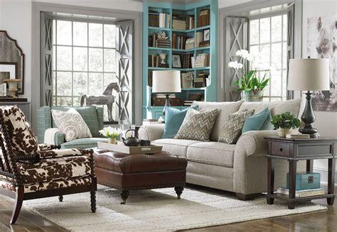 traditional living room sofa hgtv home custom upholstery large sofa by bassett