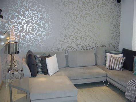 wallpaper livingroom grey wallpaper living room post on brunch at