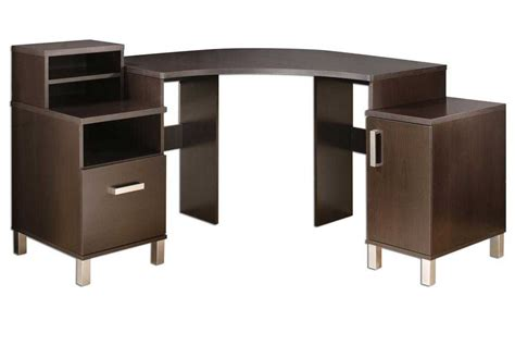 modern desks with storage contemporary corner desk to maximize space usage