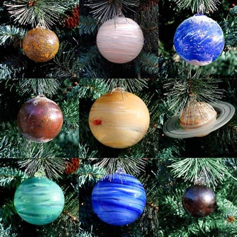 tree ornament pictures glass planets of the solar system x tree ornaments