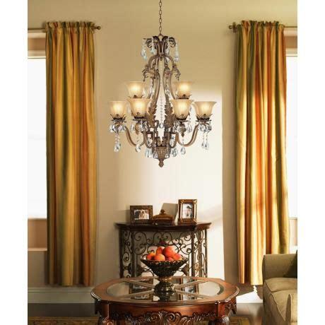 franklin iron works chandelier iron leaf 34 quot wide bronze and 12 light chandelier