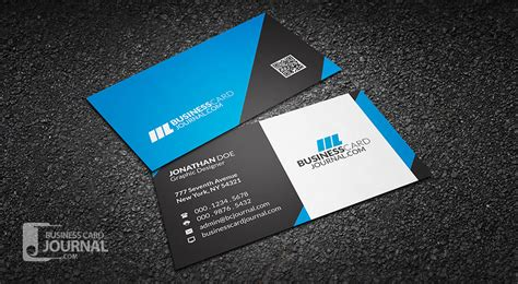 how to make a professional business card free corporate business card templates 187 business card journal