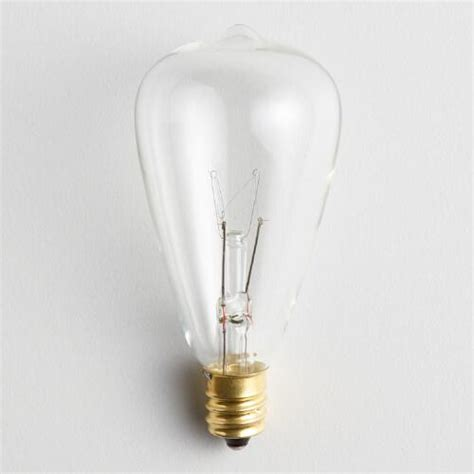 string of light bulbs edison style string light replacement bulbs set of 4