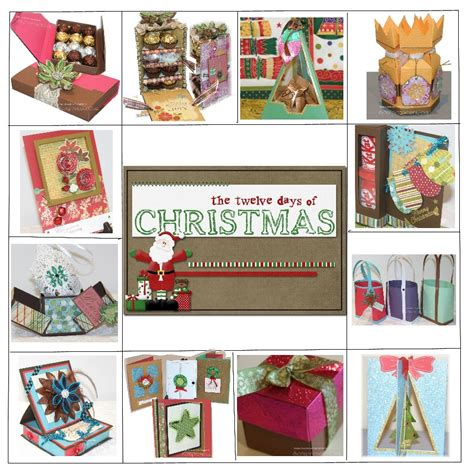 paper craft gift ideas 12 days of craft tutorials second edition