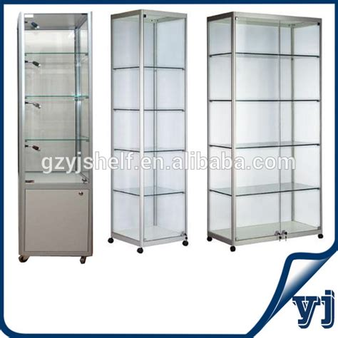cheap glass display cabinets high quality tempered toughened showcase display glass