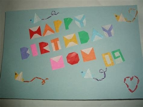 origami birthday card origami birthday card 183 an origami card 183 origami and