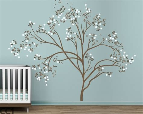 wall decor tree stickers littlelion studio blossom tree large wall