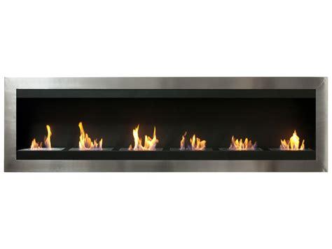 wall mounted ethanol fireplace maximum bio ethanol recessed fireplace