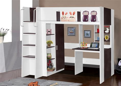 single and bunk bed boston loft bunk with single bed desk wardrobe
