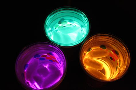 glow stick crafts for frugal sleepover glow in the cups mommysavers
