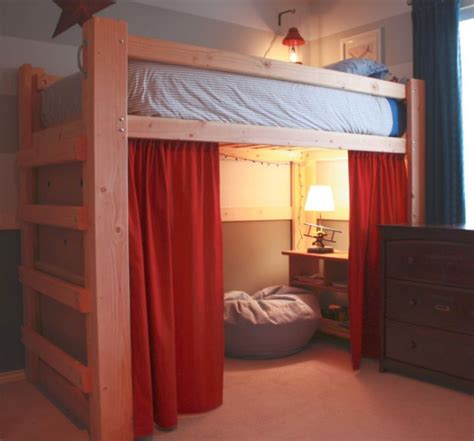 bed adults edgy loft beds with desk design ideas