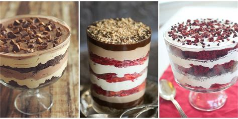best healthy trifle recipes how to make healthy and easy desserts