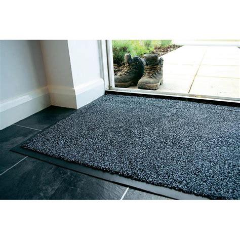 tapis d entr 233 e anti poussi 232 res coton gris 0 9 m x 0 6 m coba europe cp010601 vente tapis d