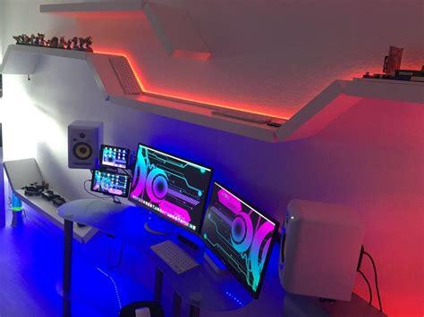 gaming room setup best 25 gaming room setup ideas on computer