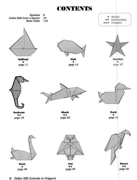 dollar bill origami animals dollar bill animals in origami