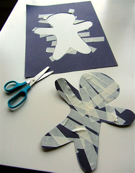 mummy crafts for masking mummy craft for no time for
