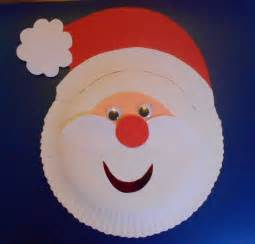 paper plate arts and crafts for may arts and crafts paper plate santa
