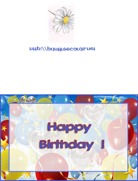printable card websites for free cards birthday new calendar template site