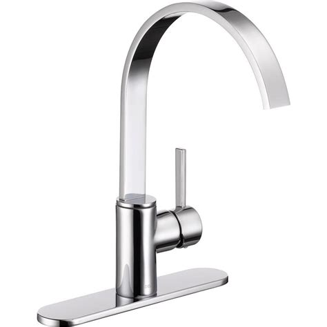 faucets kitchen home depot delta mandolin single handle standard kitchen faucet in