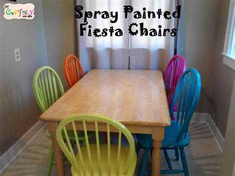 spray painting dining room chairs dining table dining table with multi colored chairs