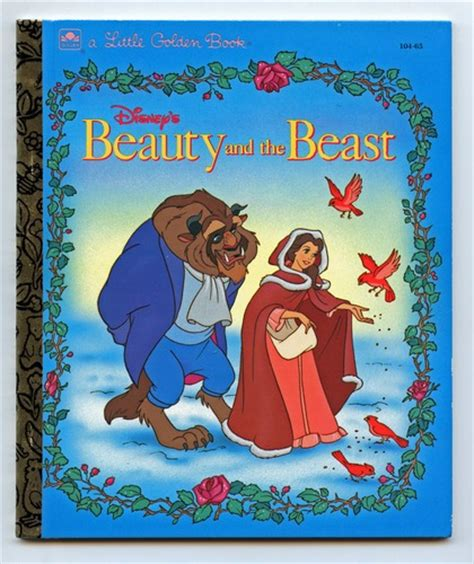 the beast picture book disneys and the beast golden book
