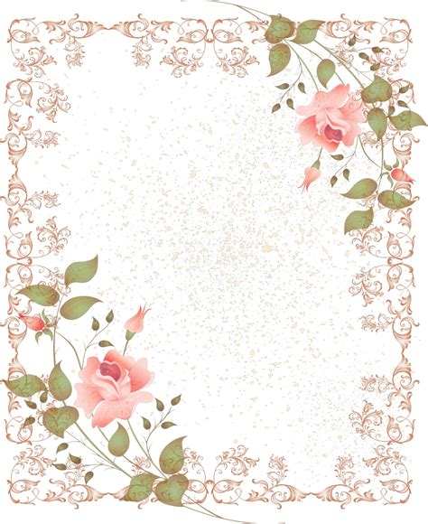Picture Frame Wall Sticker floral border free download clip art free clip art
