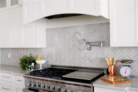 herringbone tile backsplash design trends 7 ways to use herringbone in your kitchen