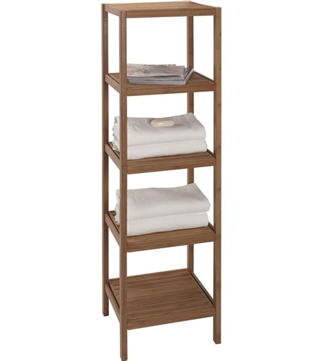 bathroom storage shelves bamboo shelving unit in bathroom shelves