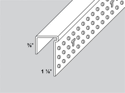 drywall j bead shadow line j bead trim tex drywall products