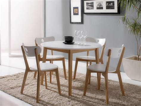 dining tables for 4 modern white dining table set for 4